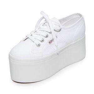 948317e5de44 ASOS Shoes - Superga 2802 Extreme Flatform White Sneakers